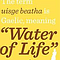 Scotch Whisky: The Water of Life