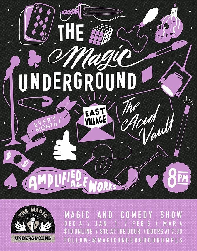 The Magic Underground SD - Wednesday, February