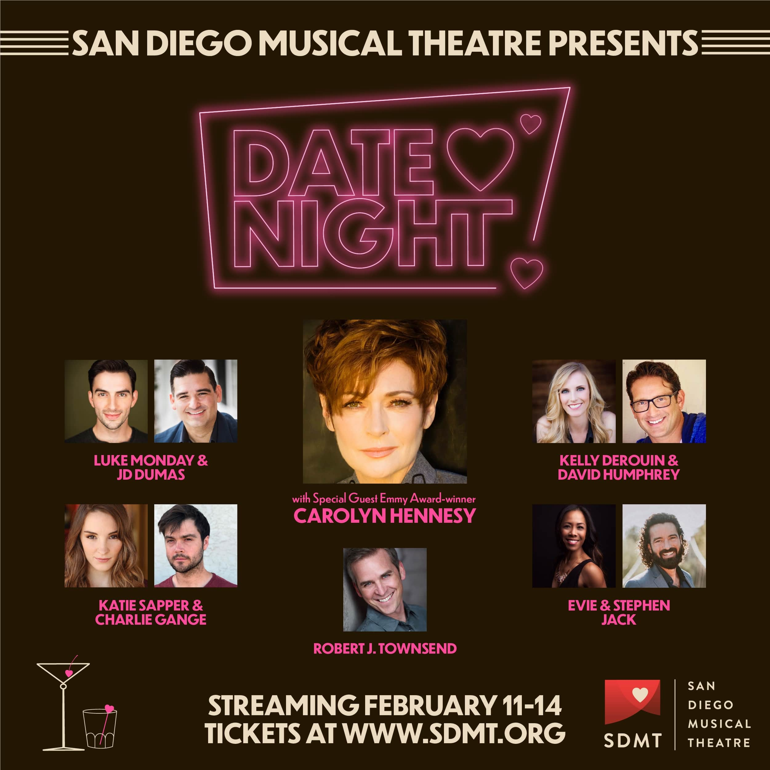 San Diego Musical Theatre: Date Night - Thursday, March 11 ...