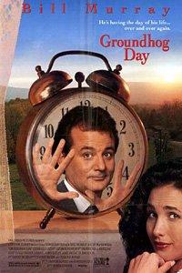 Groundhog Day movie poster