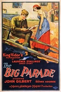 Big Parade movie poster