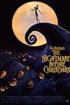Tim Burton's The Nightmare before Christmas movie poster