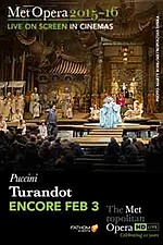 Metropolitan Opera: Turandot (Encore)