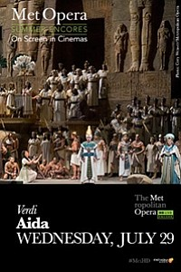 Met Summer Encore: Aida movie poster