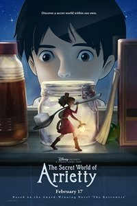 Secret World of Arrietty movie poster