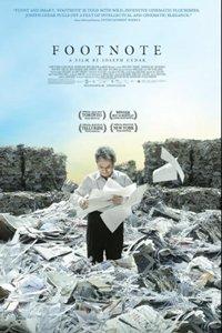 Footnote movie poster