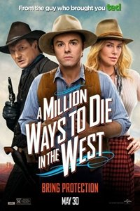 Million Ways to Die in the West movie poster