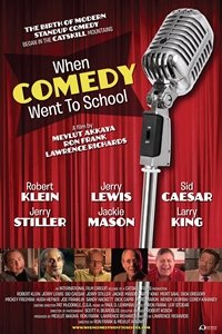 When Comedy Went to School movie poster