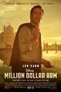 Million Dollar Arm movie poster