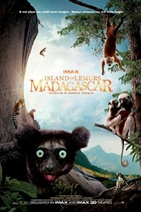 Island of Lemurs: Madagascar: The IMAX Experience movie poster