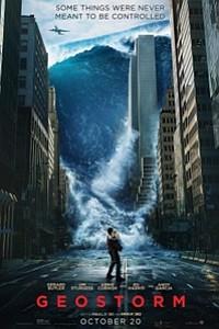 Geostorm 3D movie poster