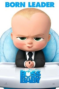 Boss Baby 3D movie poster