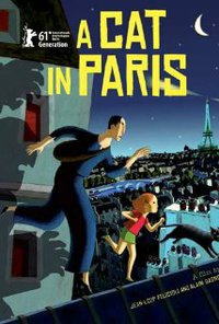 Cat in Paris movie poster