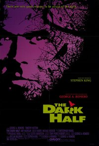 Dark Half movie poster