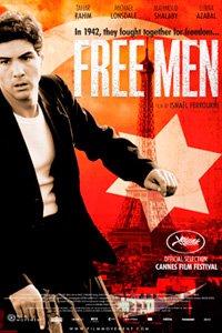 Free Men movie poster