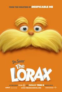 Dr. Seuss's The Lorax movie poster