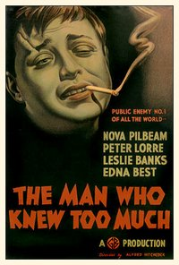 Man Who Knew Too Much movie poster