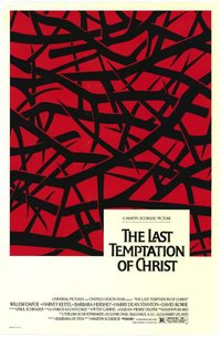 Last Temptation of Christ movie poster