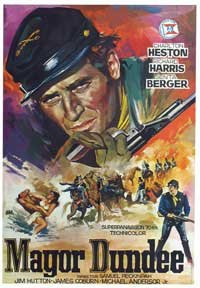 Major Dundee movie poster
