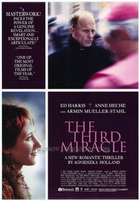 Third Miracle movie poster