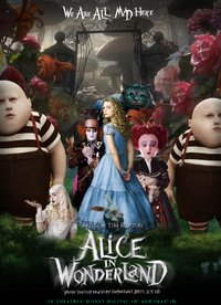 Alice in Wonderland movie poster