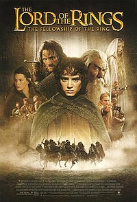 Lord of the Rings: The Fellowship of the Ring movie poster