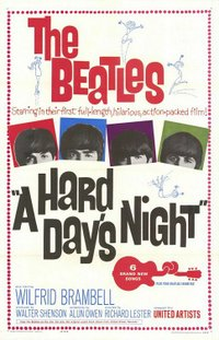 Hard Day's Night movie poster