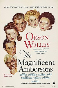 Magnificent Ambersons movie poster