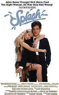 Splash movie poster