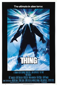Thing movie poster
