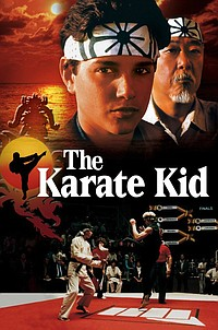 Karate Kid movie poster