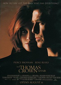 Thomas Crown Affair movie poster