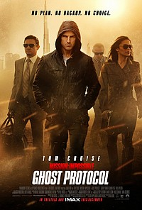 Mission: Impossible — Ghost Protocol movie poster