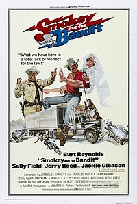 Smokey and the Bandit movie poster