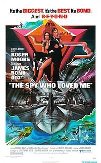 Spy Who Loved Me movie poster