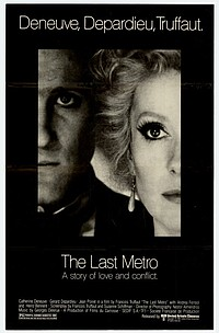 Last Metro movie poster