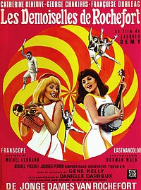 Young Girls of Rochefort movie poster