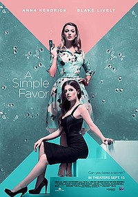 Simple Favor movie poster