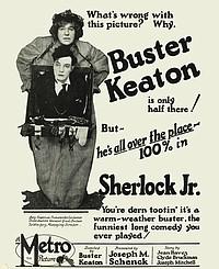 Sherlock Jr. movie poster