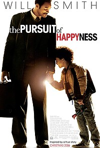 Pursuit of Happyness movie poster