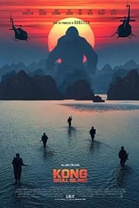 Kong: Skull Island 3D movie poster