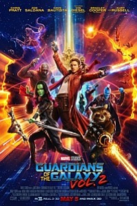 Guardians of the Galaxy Vol. 2 in Disney Digital 3D movie poster