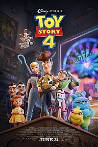 Toy Story 4 in Disney Digital 3D movie poster