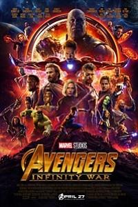 Avengers: Infinity War in Disney Digital 3D movie poster