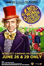 Willy Wonka and the Chocolate Factory (1971) presented by TCM