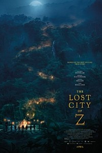 Lost City of Z movie poster