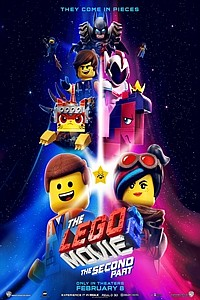 LEGO Movie 2: The Second Part in 3D movie poster