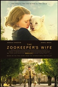 Zookeeper's Wife movie poster