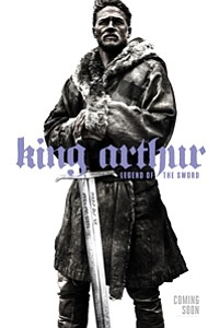 King Arthur: Legend of the Sword 3D movie poster