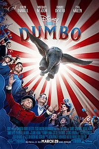 Dumbo 3D movie poster
